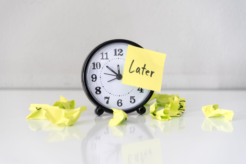 procrastinazione come combatterla